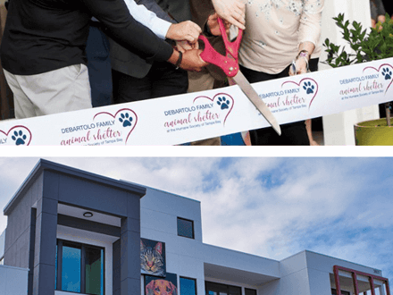 The Humane Society of Tampa Bay Ribbon Cutting Ceremony